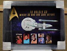 William Shatner Star Trek Autographed Model Enterprise - Authenticated