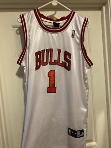 Adidas Chicago Bulls Rose Jersey size 52