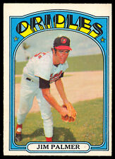 1972 TOPPS OPC O PEE CHEE BASEBALL #270 Jim Palmer NM Baltimore Orioles Card HOF