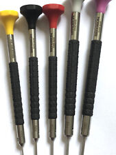 Bergeon 6899-p05 Set of 5 Watchmakers Ergonomic Screwdrivers Swiss Made