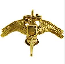 VANGUARD USMC MARINE  BADGE: MARSOC BREAST BADGE GOLD MINIATURE