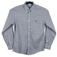 Brooks Brothers Regent Fit Purple Green Plaid Long Sleeve Button Shirt Medium