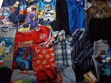 NEW USED NICE 42 GAP ZARA ADIDAS FIRETRAP BUNDLE BOY CLOTHES 6/7 YRS 7/8+YRS (8)