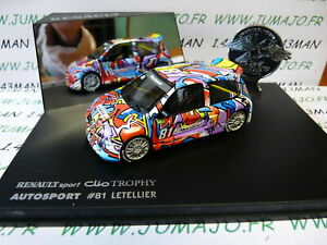 RLY6 voiture 1/43 Universal Hobbies eagle collectibles CLIO TROPHY #81 Letellier