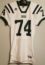 NCAA - NWT AUTHENTIC RUSSELL OHIO BOBCATS FOOTBALL JERSEY WHITE - MENS L