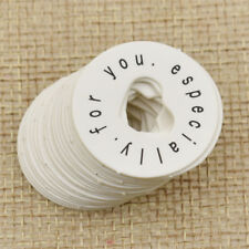 50pcs Small Label Card Hollow Hearts Shape especially for you Tags Favors Party