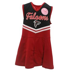 Atlanta Falcons NFL Kids Youth Girls Size Cheerleader Outfit with Bottoms Set