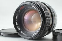EXC+++ Canon FD 50mm f/1.4 S.S.C. Manual Focus Lens from Japan #020