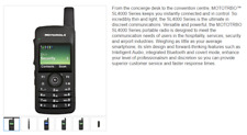 Motorola Sl4000e Sl4000 Compact Dmr Digital Uhf Two Way Radio Walkie Talkie