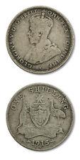 Australia George V Shilling 1915 Fine KM-26