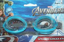 Marvel Avengers Óculos De Natação Splash idades 4 E acima Azul d037ead968
