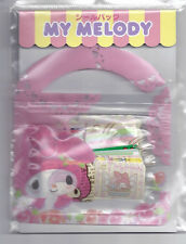 Sanrio My Melody Sack of Stickers With Pouch