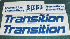 Transition Bike Decals Large Set 10 DH MTB TR Covert Bandit Blindside Freeride