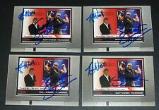Kevin Nash Scott Steiner Signed 2008 TNA Impact Wrestling Card PSA/DNA COA Auto