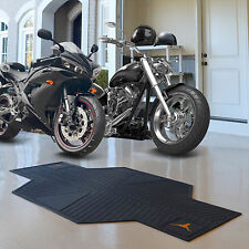 Texas Longhorns NCAA Rubber Motorcycle Garage Floor Protector Mat