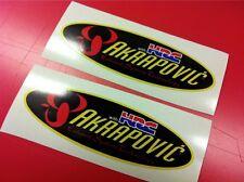 2 AKRAPOVIC HRC Adesivi resistente al calore 20 cm.