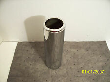"""2.00 """" 304 STAINLESS STEEL PENCIL CUT EXHAUST TIP- AP EXHAUST"""