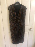 alexander mcqueen Animal Print Dress, Sz M, BNWOT, RRP $1250