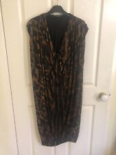 alexander mcqueen Animal Print Dress, Sz M, BNWOT, RRP $1250