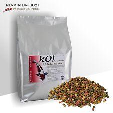KOIFUTTER 15 kg *Alle Farben Mix* Premium Auswahl Pelletröße 6mm / Fischfutter