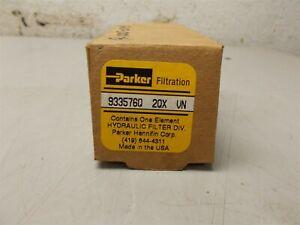 Parker Hydraulic Filter 933576Q 2QX VN