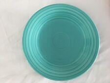 "Teal Blue Fiesta 12"" Marked Platter Plate Pottery"
