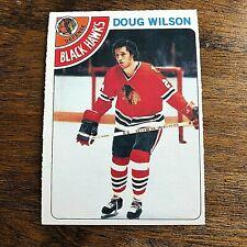 1978-79 O-Pee-Chee  # 168 DOUG WILSON ROOKIE