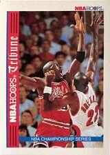 1992-93 NBA Hoops Tribune Michael Jordan Clyde Drexler Championship Series #TR1