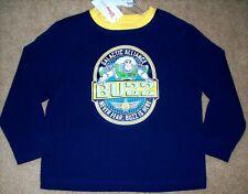 NEW Boy's DISNEY STORE Toy Story BUZZ LIGHTYEAR Top BLUE T-Shirt NWT Size 4-5 XS