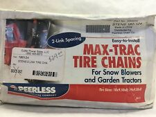 Two Link Tire Chains - Stens / Peerless - Part Number 180124