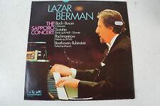 Lazar Berman The Saporro Concert Bach Busoni Scriabin Rachmaninow Beethov(LP16)