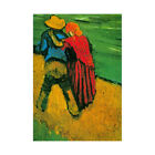 Van Gogh Two Lovers Old Master Picture Framed Wall Art Print