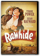 Rawhide DVD New Tyrone Power Susan Hayward 1951