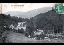 LE MOULIN DU PLATEAU (58) MOULIN à EAU début 1900