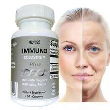 Immunocal Cow Colostrum Plus Immunity Support Anti Aging Factor Usa 30 Capsules