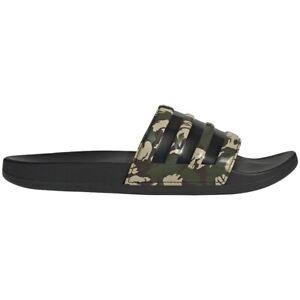 Mens Adidas Adilette Comfort Pine Camo Slides Athletic Sandal FZ4686 Size 10, 11