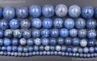 Natural Sunset Dumortierite Gemstone Round Beads 4mm 6mm 8mm 10mm 12mm 14mm 16""