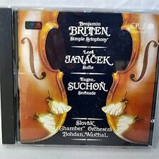 Britten Simple Symphony Janacek  Suite Suchon Serenade CD 1986 Opus Import Rare