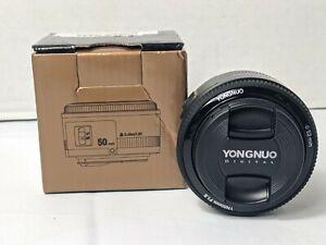 Yongnuo EF YN 50mm f/1.8 MF Lens for Canon brand new
