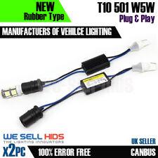 2x Led Luz Lateral Resistor ningún error 501 W5w T10 libre Canbus Fiat Punto Placa