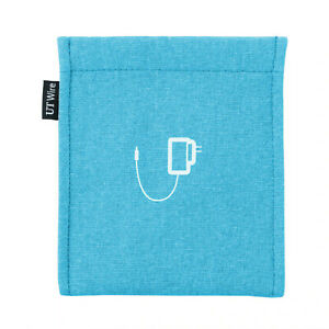 Pocket Earbud, Earphone, Charger Pouches Headphone Travel Organizer - UT Wire
