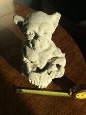 Garden Gargoyle Ugly little fella reconstituted stone FREE POSTAGE