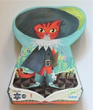 Djeco Childrens Puzzle, Puss In Boots 50 pieces, pre-owned, boxed, all complete.