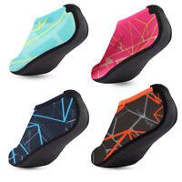 Skin Water Shoes Aqua Beach Socks Women Men Yoga Exercise Pool Swim Slip On Surf