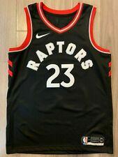 Authentic Nike Toronto Raptors Fred Vanvleet Swingman Statement Jersey black M