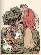 Jugendstil - Andreas Untersberger. Tratzmüller, Joseph. Erdmütterlein ruft! 1926