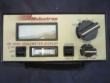 MOLECTRON DETECTOR INC.JOULEMETER DISPLAY MODEL JD1000 (ITEM # 148/14)