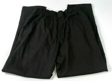 New Edwards Unisex Traditional Baggy Chef Pants 2001 Black Large