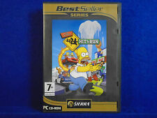 PC Simpsons Hit & and Run Action Abenteuer Spiel PC CD-ROM