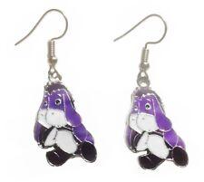 Eeyore Purple Character French Wire Earrings